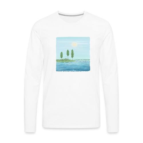 zomertijd - T-shirt manches longues Premium Homme