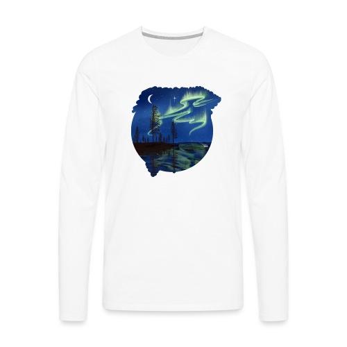 Reflet des aurores boréales - lapland8seasons - T-shirt manches longues Premium Homme