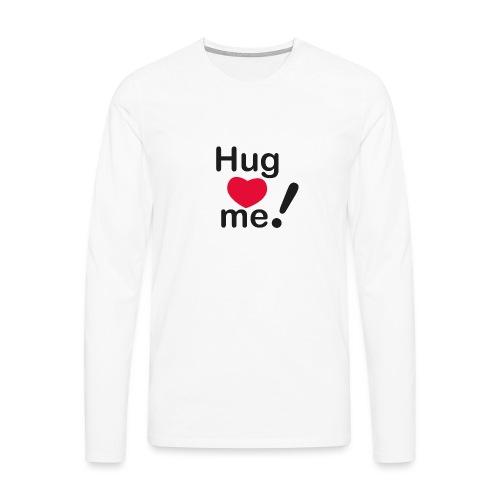 Abbracciccio-07 - Maglietta Premium a manica lunga da uomo