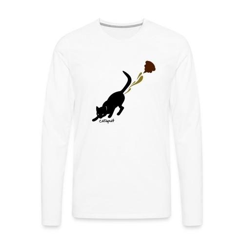 Catapult - Mannen Premium shirt met lange mouwen