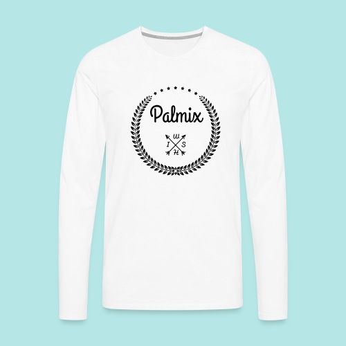 Palmix_wish V-neck - Men's Premium Longsleeve Shirt