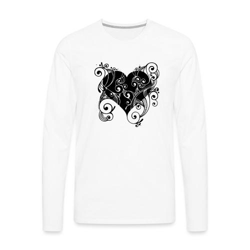 Isle of Heart Petal - Men's Premium Longsleeve Shirt