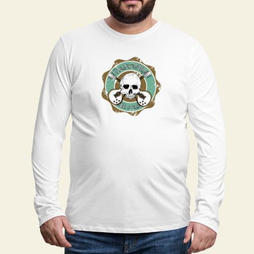Rockabilly Still Rockin - Herre premium T-shirt med lange ærmer