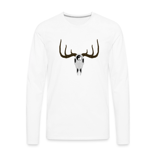 YIN & YANG - Männer Premium Langarmshirt