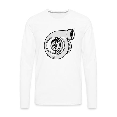 Turbo G - T-shirt manches longues Premium Homme