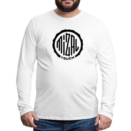 Mizal Touch Certified - Koszulka męska Premium z długim rękawem