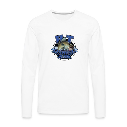 HT Fishing Team - Miesten premium pitkähihainen t-paita