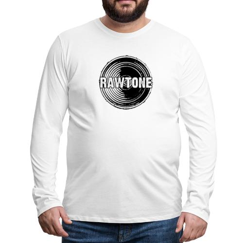Rawtone Records logo - Men's Premium Longsleeve Shirt