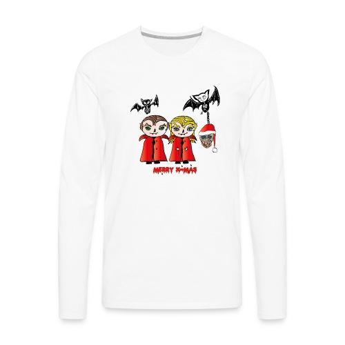 Frohe Weihnachten - Männer Premium Langarmshirt
