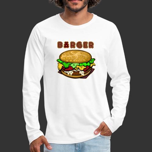Burger Bear meets Bärenlust - Männer Premium Langarmshirt