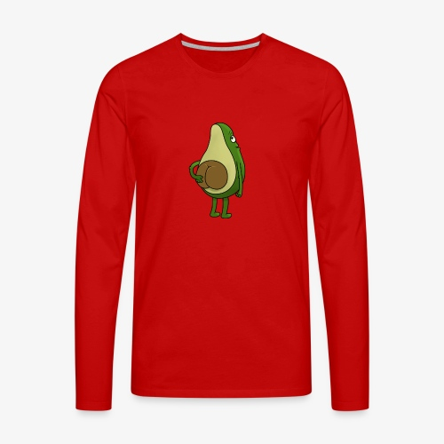 Avokado - Männer Premium Langarmshirt