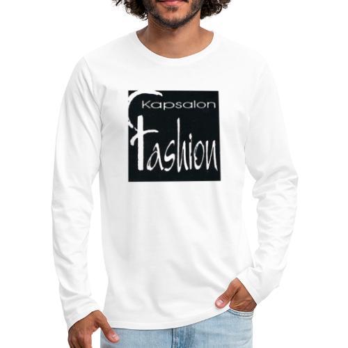 Kapsalon Fashion - Mannen Premium shirt met lange mouwen