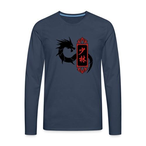 Shaolin Dragon - T-shirt manches longues Premium Homme