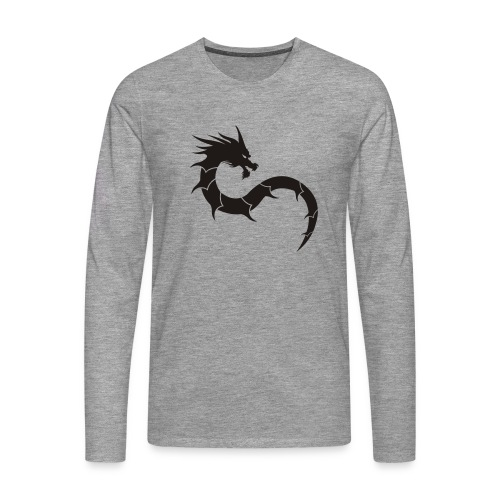 shaolin dragon 2 - T-shirt manches longues Premium Homme