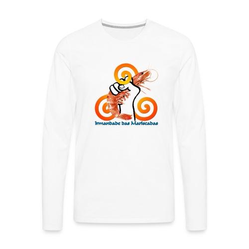 Irmandade das Mariscadas - Camiseta de manga larga premium hombre