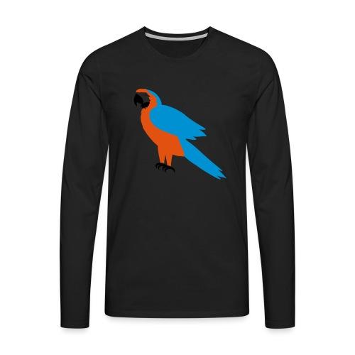 Parrot - Maglietta Premium a manica lunga da uomo