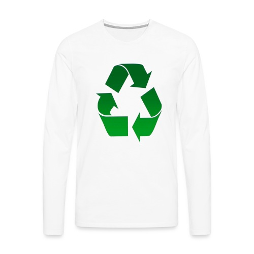 Recyclage - T-shirt manches longues Premium Homme