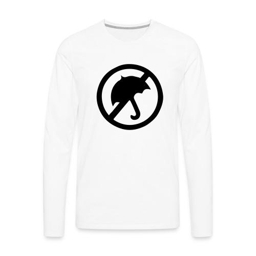 rainmakerlogo - Miesten premium pitkähihainen t-paita