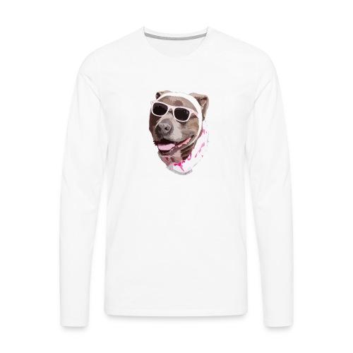 Perrote - Camiseta de manga larga premium hombre