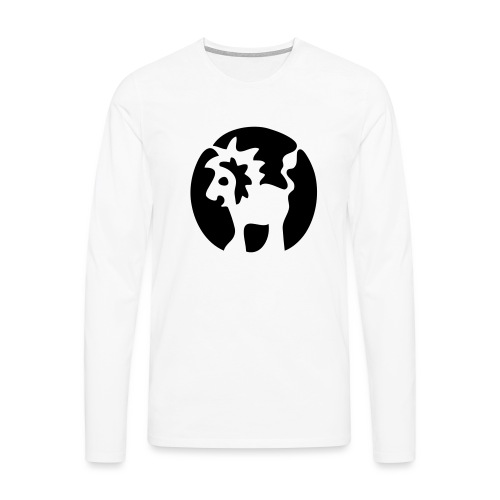 Sternbild Löwe - Männer Premium Langarmshirt