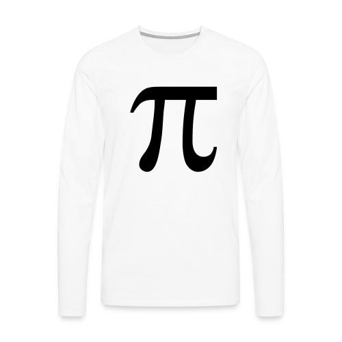 pisymbol - Mannen Premium shirt met lange mouwen