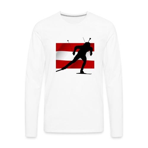 Biathlon Austria - Männer Premium Langarmshirt