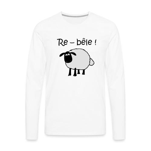 mouton-re-bele - T-shirt manches longues Premium Homme