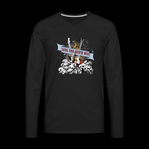 long live - Långärmad premium-T-shirt herr