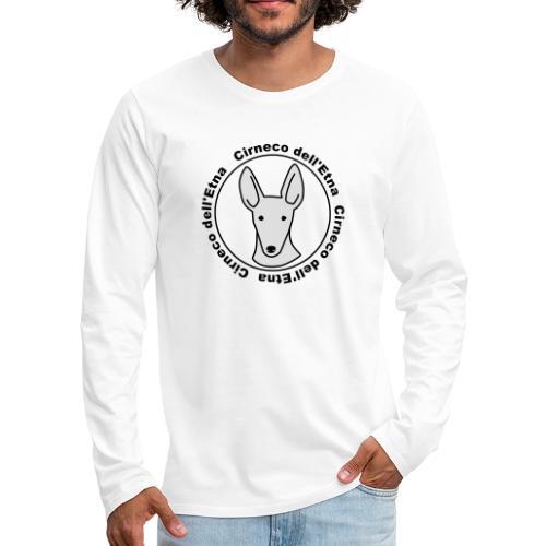 Cirneco dell'Etna - Männer Premium Langarmshirt