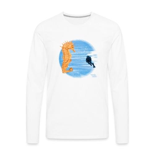 hippocampe - T-shirt manches longues Premium Homme
