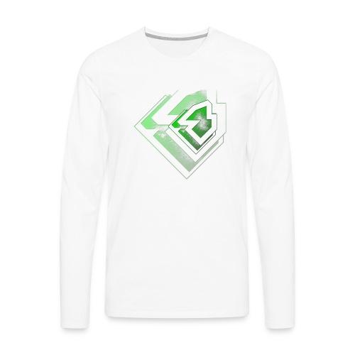 BRANDSHIRT LOGO GANGGREEN - Mannen Premium shirt met lange mouwen
