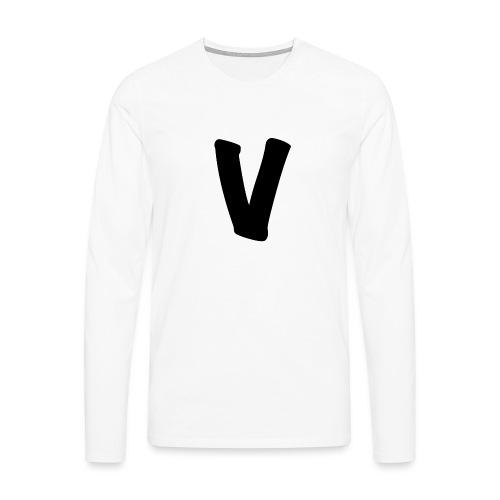 VinOnline shirt - Mannen Premium shirt met lange mouwen