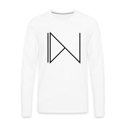 Icon on sleeve - Mannen Premium shirt met lange mouwen