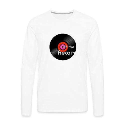 Off the Record - Miesten premium pitkähihainen t-paita
