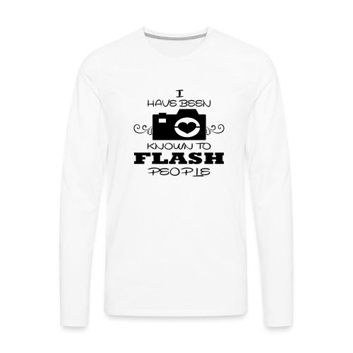 Photographer - Men's Premium Longsleeve Shirt