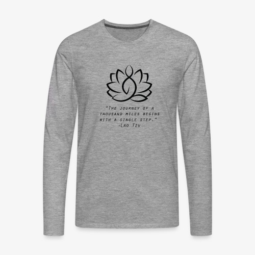 Travel quote 3 - Men's Premium Longsleeve Shirt