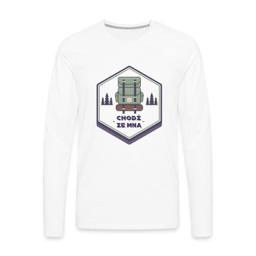 Górska wycieczka - Koszulka męska Premium z długim rękawem