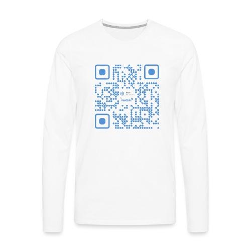 QR Maidsafe.net - Men's Premium Longsleeve Shirt