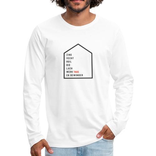 Vrienden van Robin Visser Muziek - Mannen Premium shirt met lange mouwen