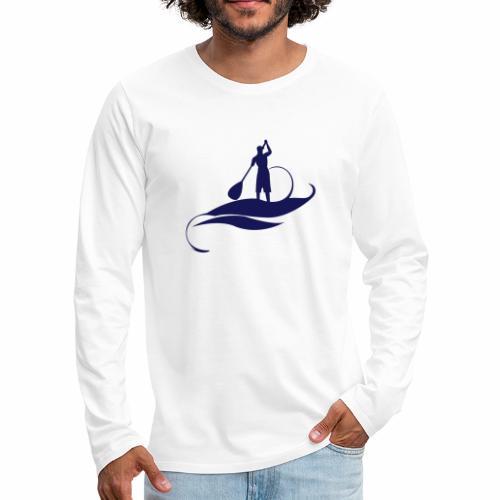 Paddle Man - T-shirt manches longues Premium Homme