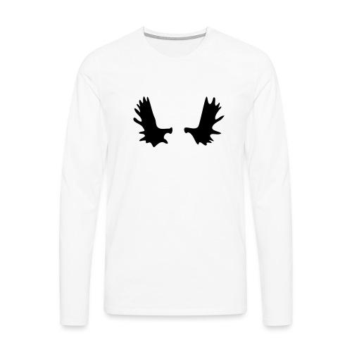 Elchgeweih - Männer Premium Langarmshirt