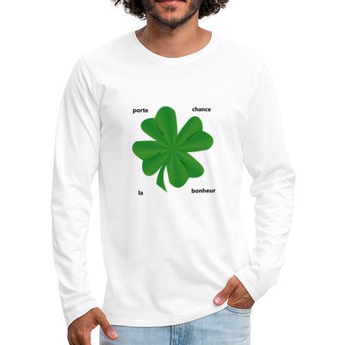 trefle - T-shirt manches longues Premium Homme