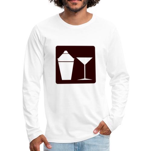 Alkohol - Männer Premium Langarmshirt