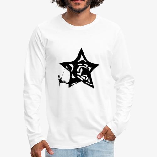 Rapel desde estrella - Star Rappel - Climb - Men's Premium Longsleeve Shirt