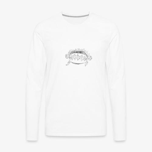 chicxulub nrv - T-shirt manches longues Premium Homme