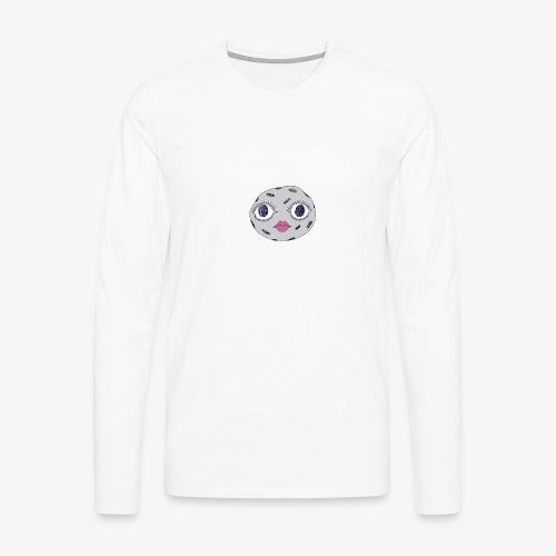 lune - T-shirt manches longues Premium Homme