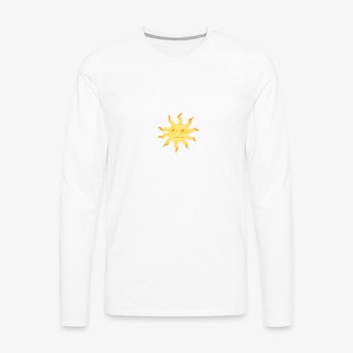 soleil - T-shirt manches longues Premium Homme