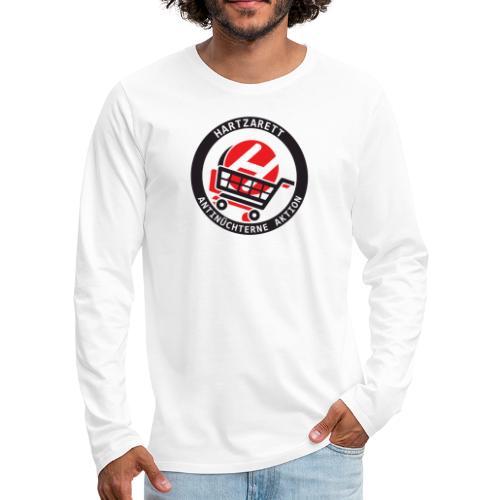 Hartzarett Antifa - Männer Premium Langarmshirt