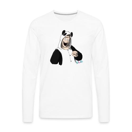 Panda - Tee shirt manches longues Premium Femme - T-shirt manches longues Premium Homme