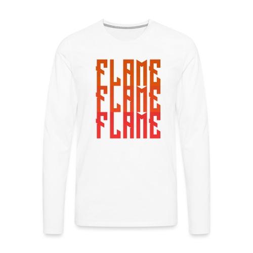 maglietta_flame_flame_flame - Maglietta Premium a manica lunga da uomo